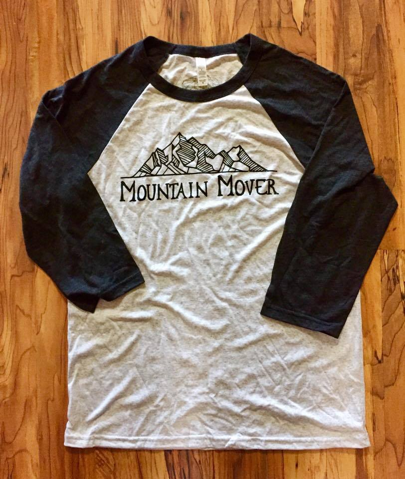 Image of Mountain Mover Raglan Triblend