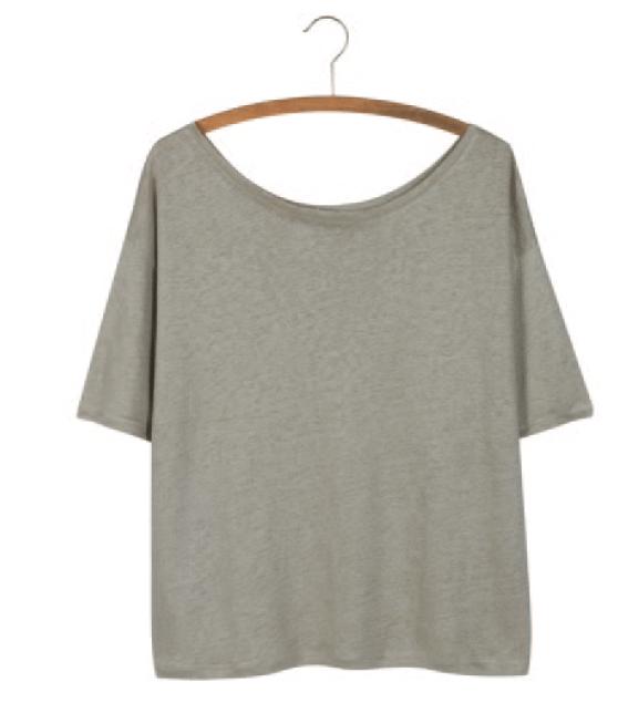 Image of Tee shirt 100%lin AUDREY