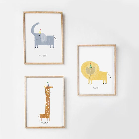 Image of 3 ART PRINTS | THE JUNGLE