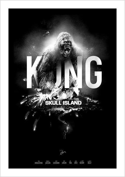 Image of Limited Edition - Kong Skull Island Poster