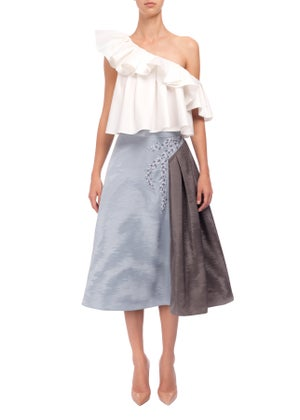 Heather Skirt - Embroidered  - Melissa Bui