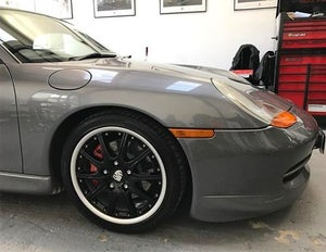 "Image of Genuine Porsche Boxster BBS Sport Design GT3 2-piece Split Rim 18"" 5x130 Alloy Wheels"
