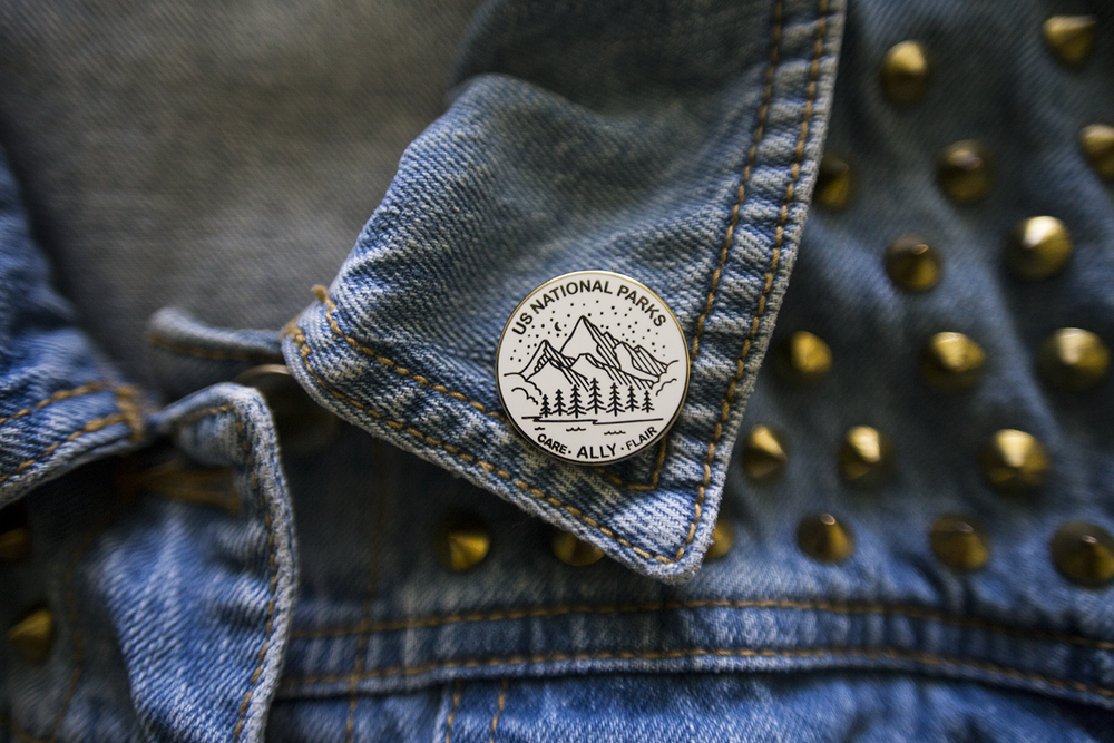 Image of US National Parks Ally Pin