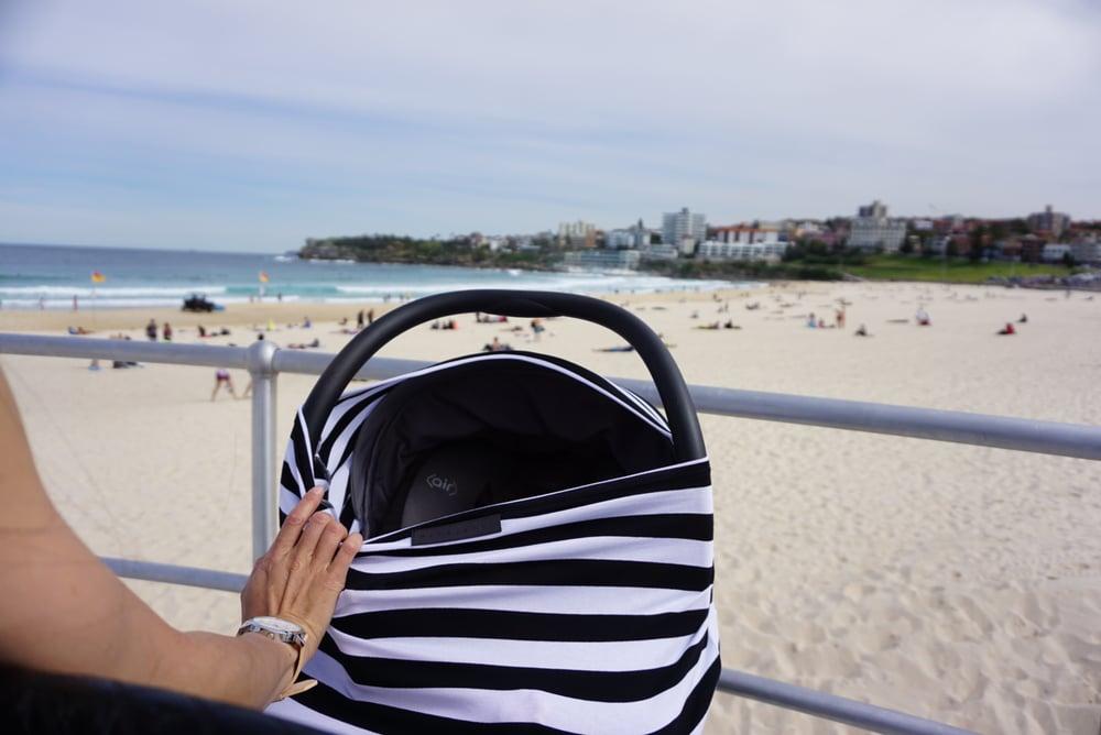 Image of Jumbo Black & White Stripe Wonder Cover