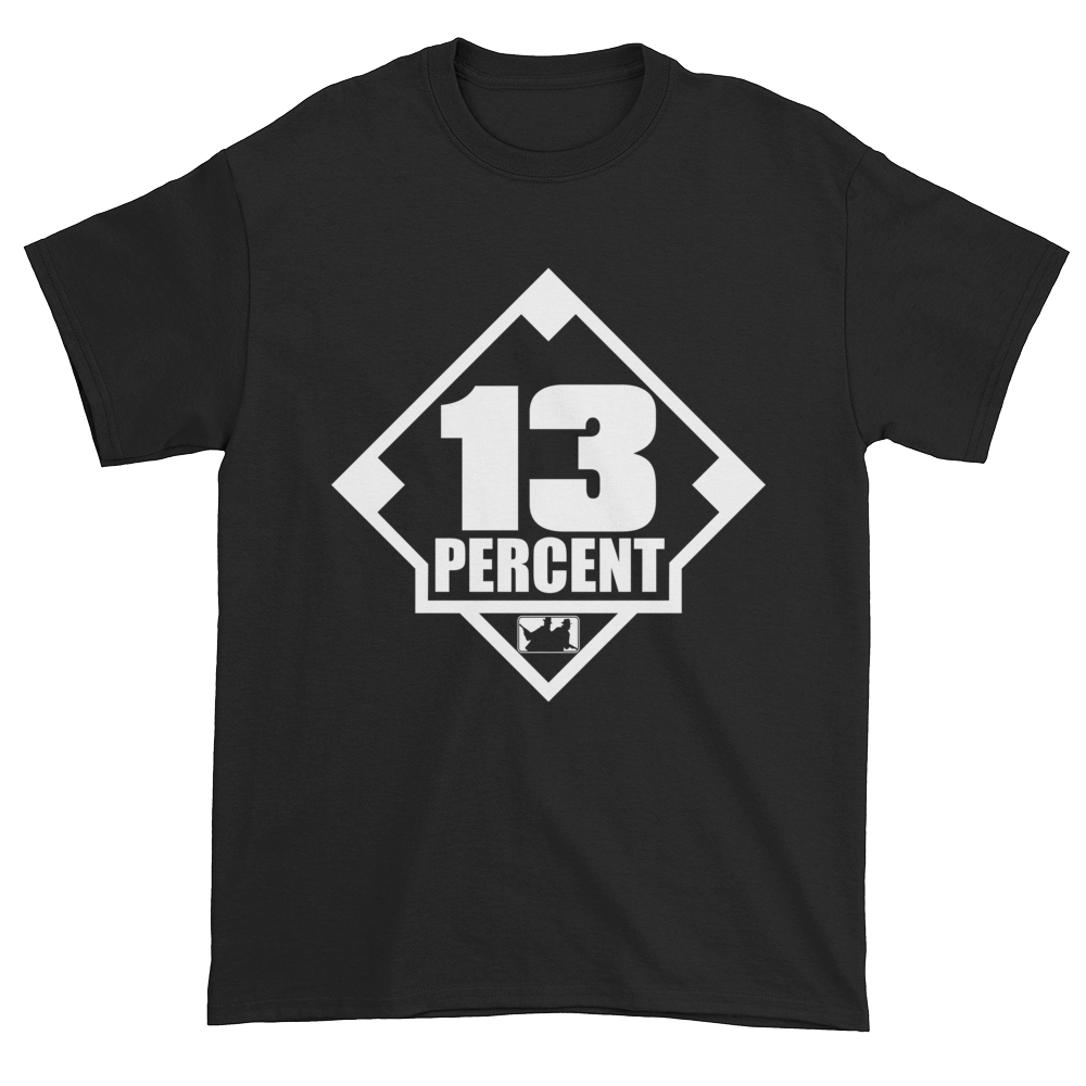 Image of 13 Percent Logo Tee (Available in 3 colors)
