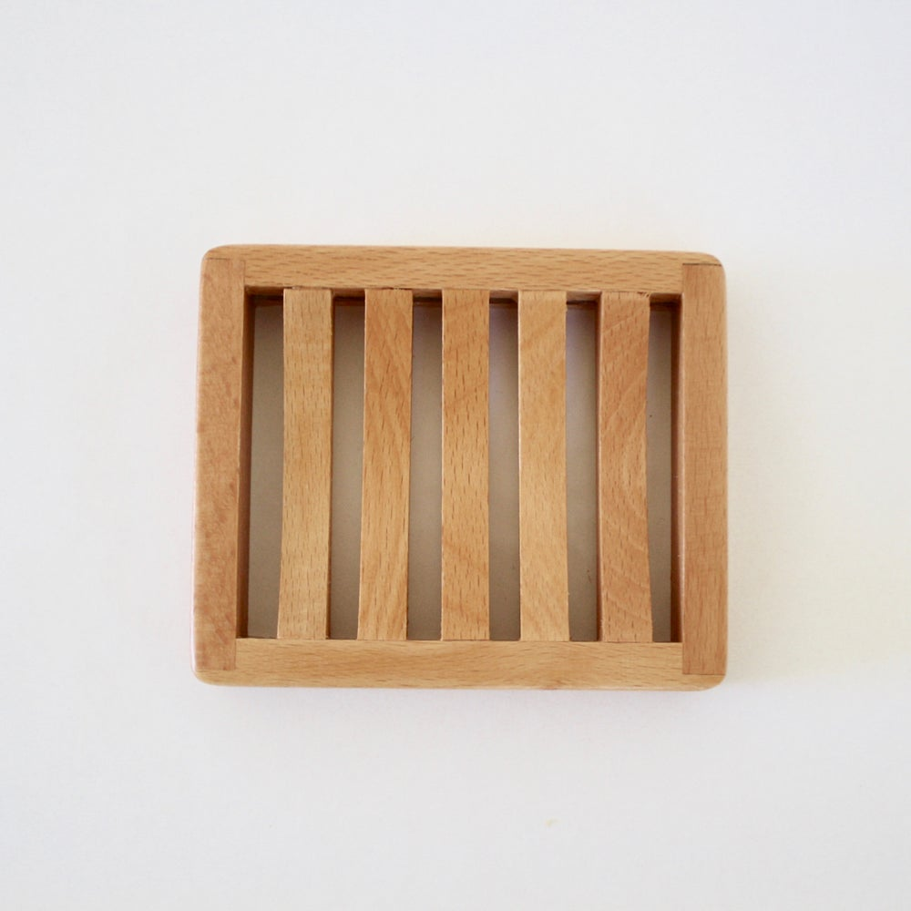 Image of Wood Soap Dish