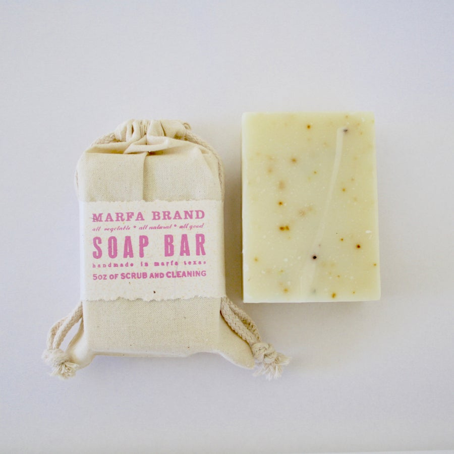 Image of Bergamot Grapefruit Soap with Lemon Peel and Earl Grey Tea