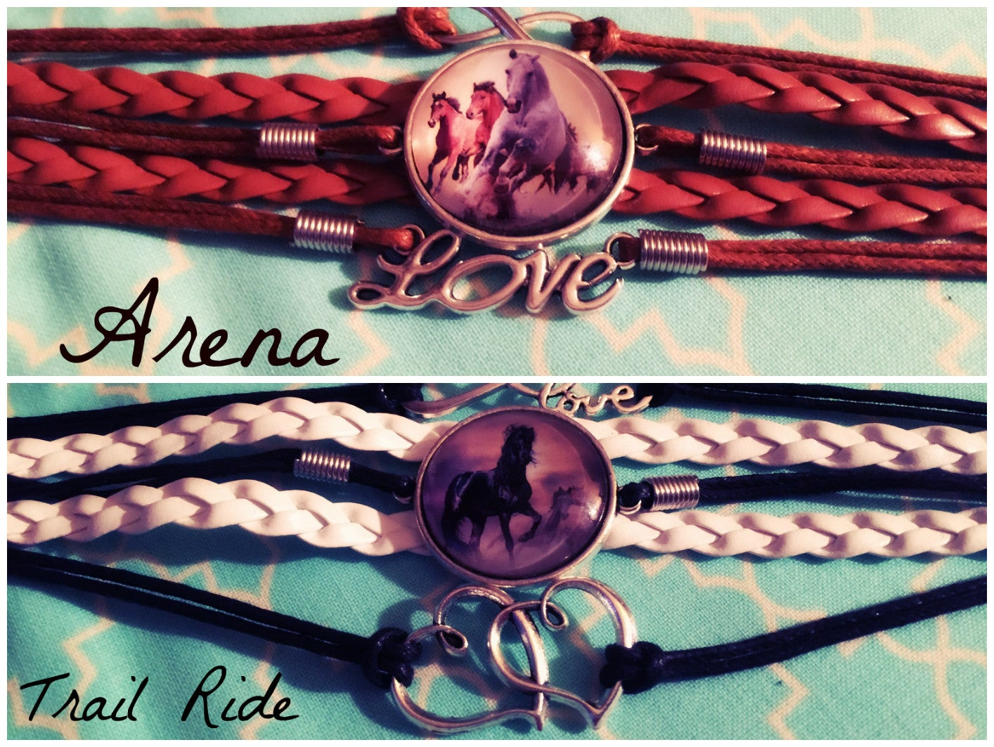 Image of LOVE a Horse Bracelet