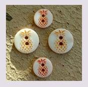 Image of Bouton: Ananas ou cactus ... c'est mode ...