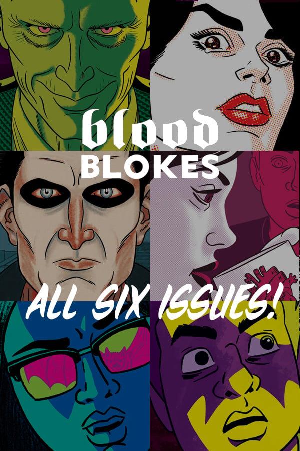 Image of Blood Blokes 6 Issue Bundle