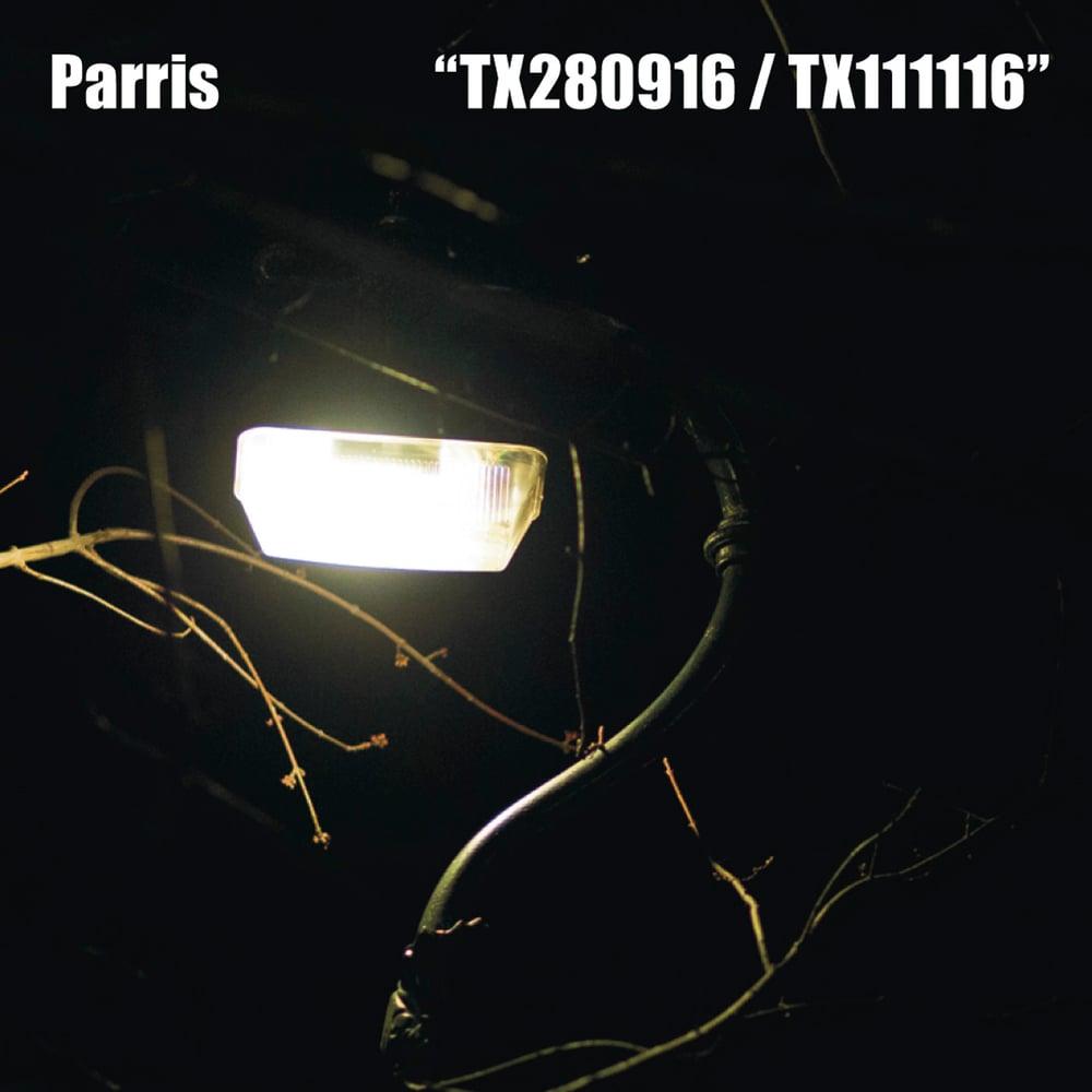 Image of Ltd Parris C90 clear blue cassette + free digital
