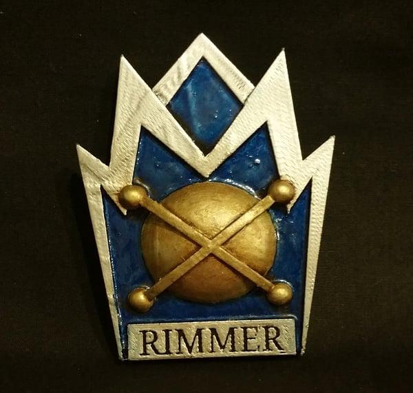 Image of Red Dwarf - Rimmer badge