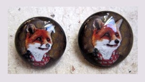 Image of Bouton: Fox