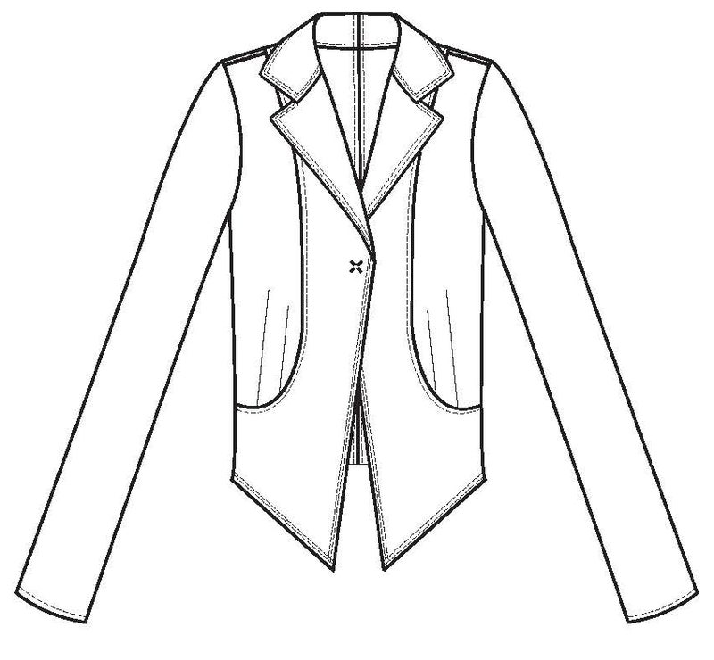 Image of Two Penny Blue jacket