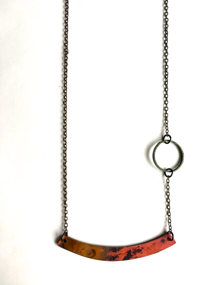 Image of Heat Patina Necklace