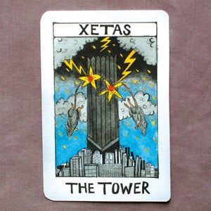 Image of XETAS - The Tower LP (12XU 095-1)