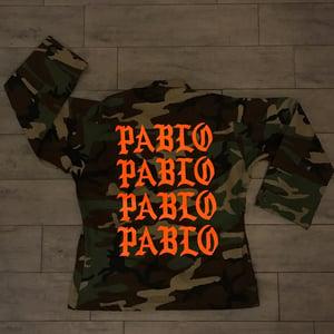 Image of PABLO ARMY TEE & JACKET (ORANGE)