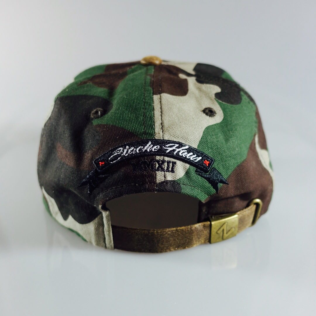 Image of Premium Camo Salute Strapback