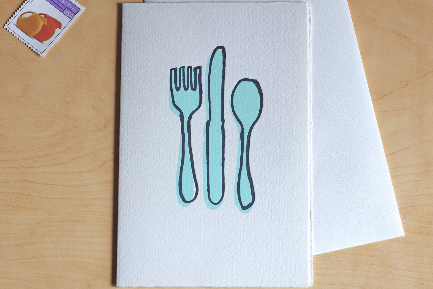 Image of CUTLERY Card
