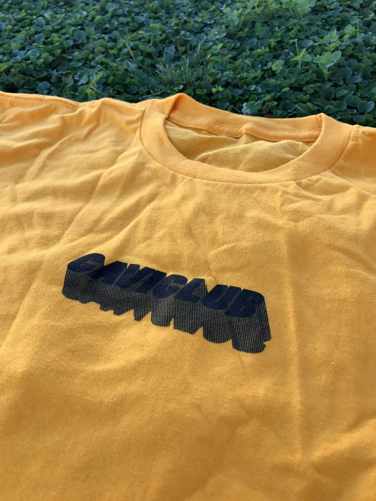 Image of Cavi progressive tee-yellow