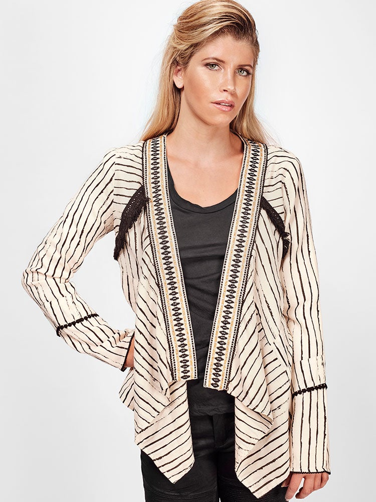 Image of SOLITO Drape Jacket