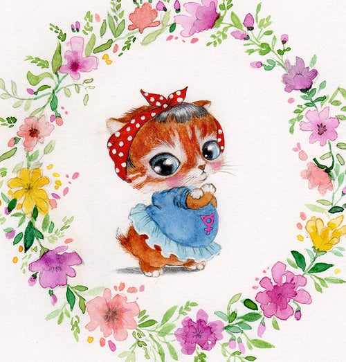 """Image of """"Rosie"""" Limited Edition Print"""