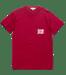 Image of Strange but not, Pocket T, Crimson