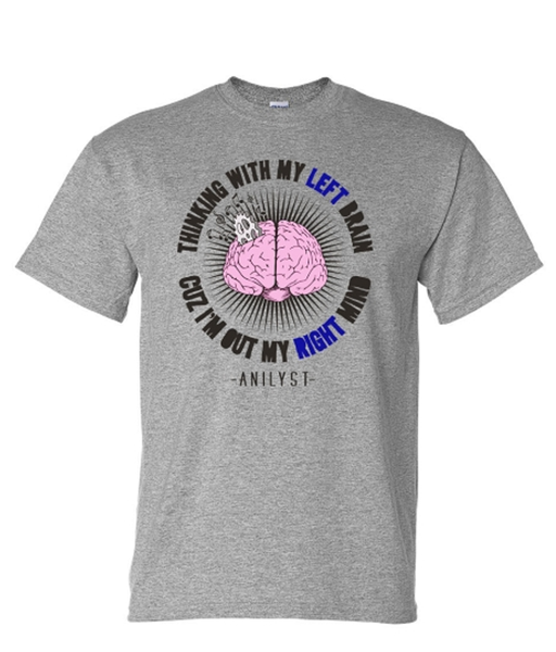 Image of Brain T-Shirt (Grey)