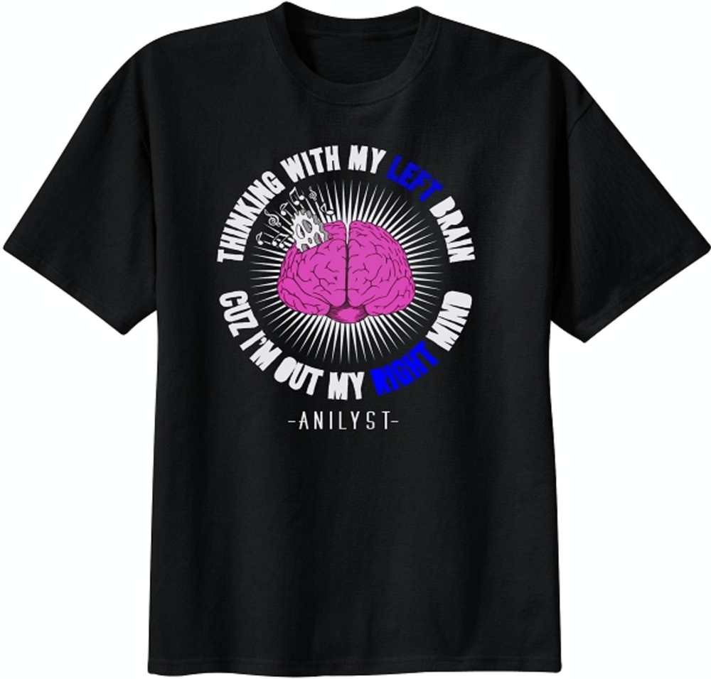 Image of Brain T-Shirt (Black)