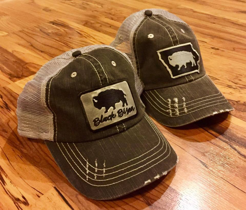 Image of Bison Patch Trucker Cap