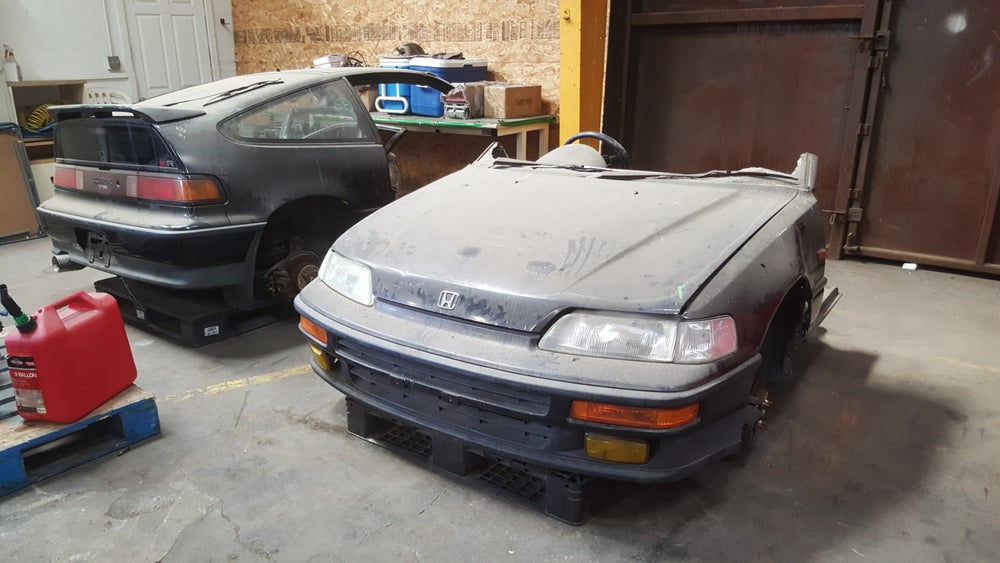 Image of RHD SIR B16a EF8 CRX HONDA