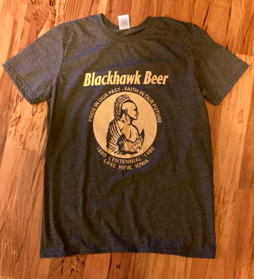 Image of Black Hawk Beer Tee