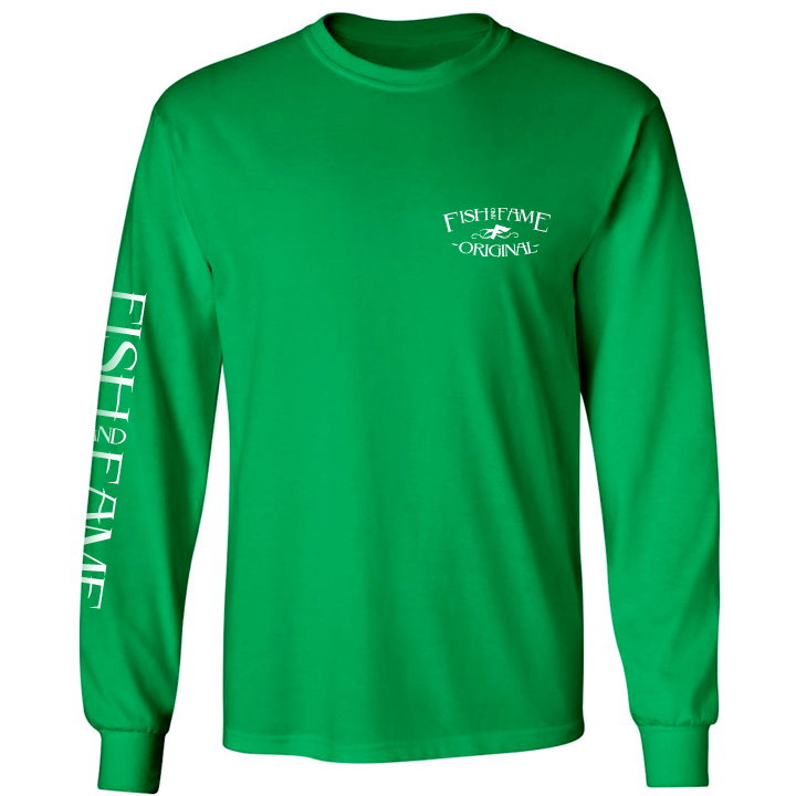 Image of No Boundaries Long Sleeve (baja green)
