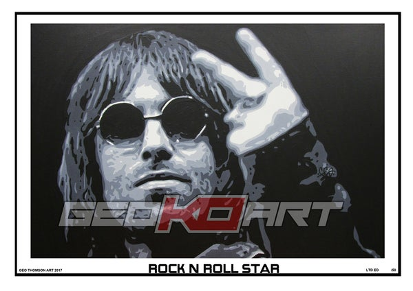 Image of LIAM - ROCK N ROLL STAR