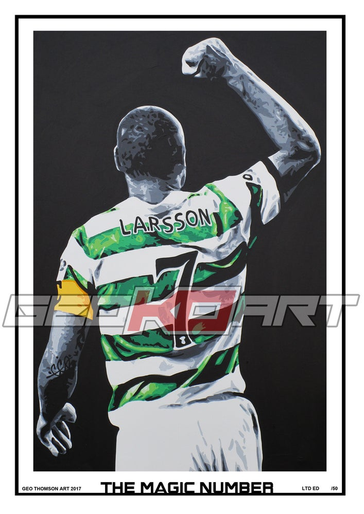 Image of LARSSON - THE MAGIC NUMBER