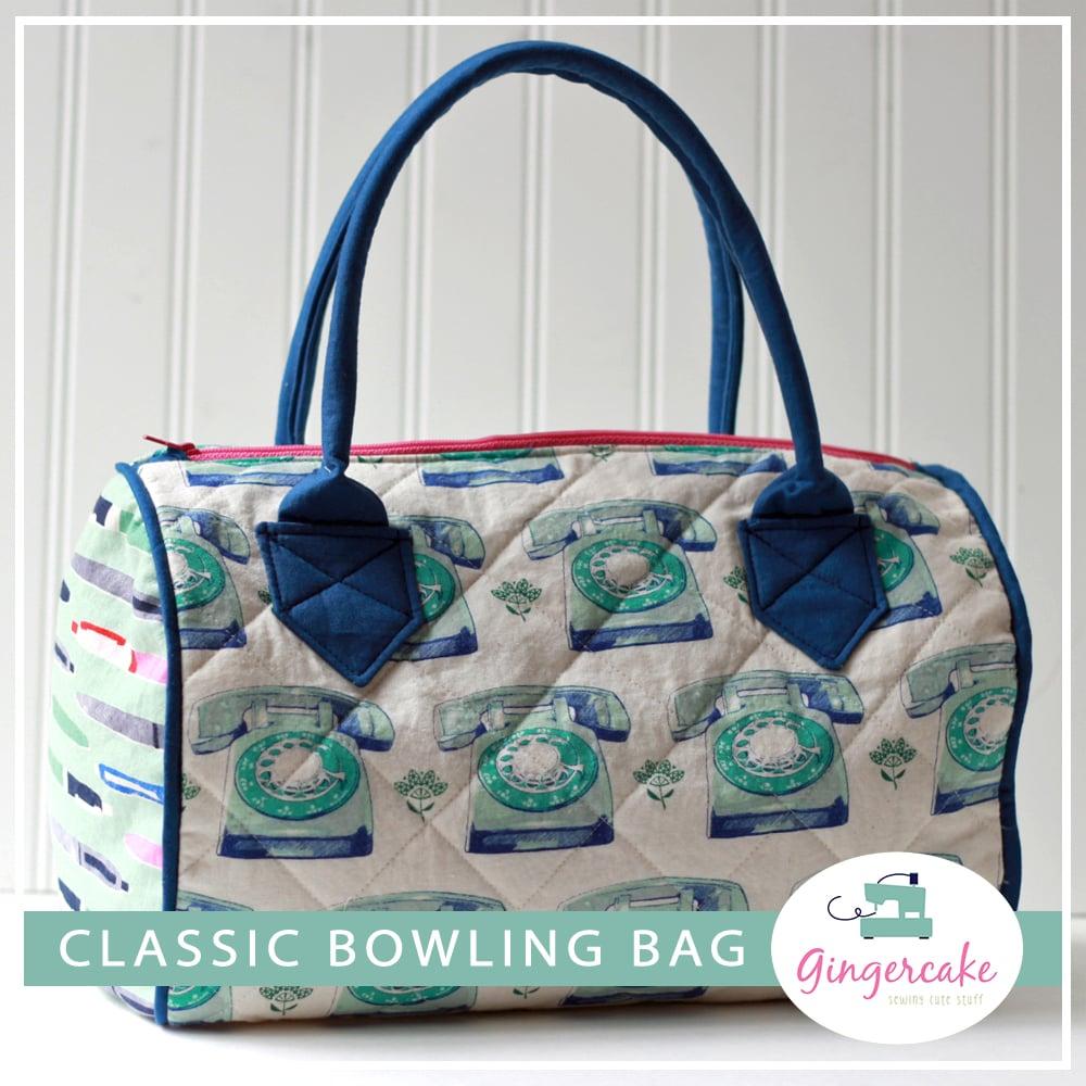 Image of Classic Bowling Bag PDF Sewing Pattern