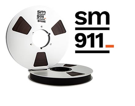 "Image of SM911 1"" X2500' 10.5"" Metal Reel Hinged Box"