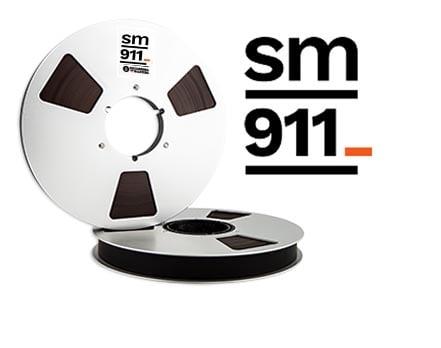 """Image of SM911 1"""" X2500' 10.5"""" Metal Reel Hinged Box"""