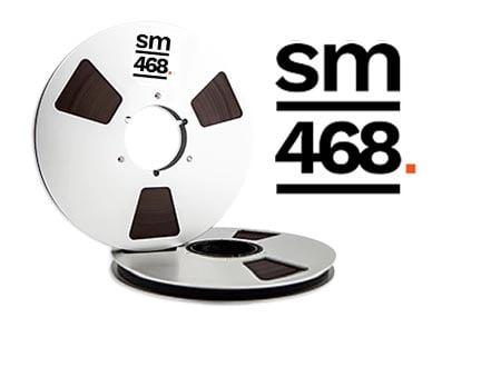"""Image of SM468 1/2"""" X2500' 10.5"""" Metal Reel Hinged Box"""