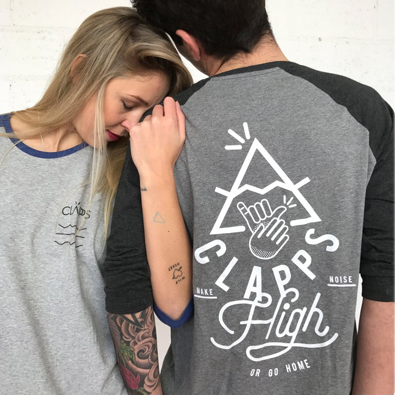 Image of CLAPPS BASEBALL TEE