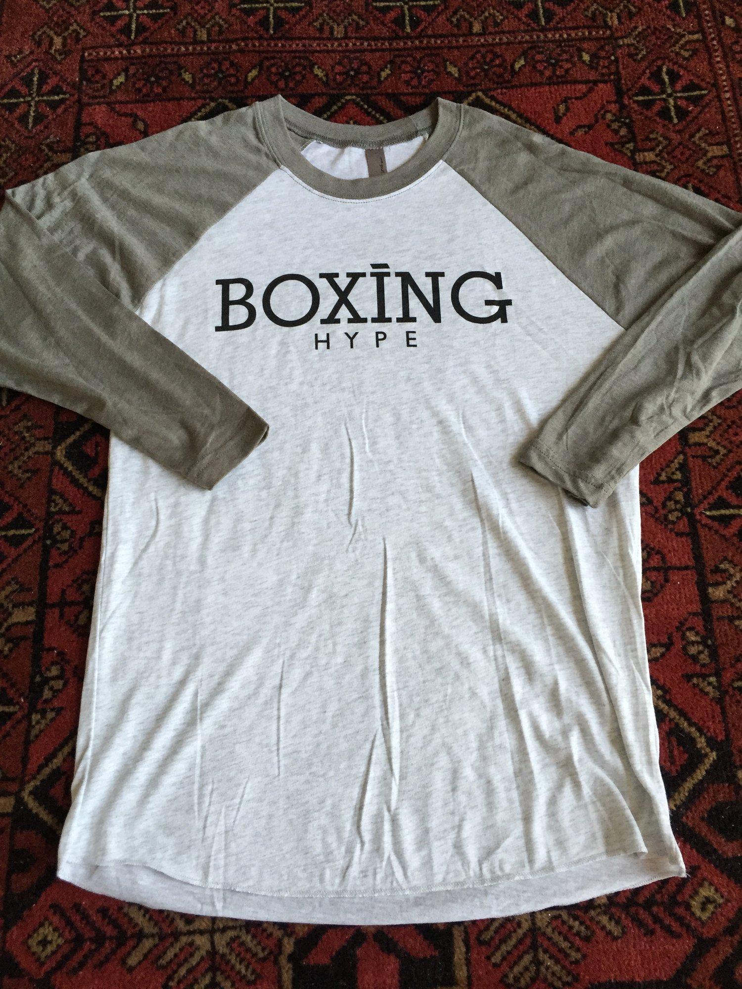 Image of Unisex BoxingHype 3/4 Baseball Tees