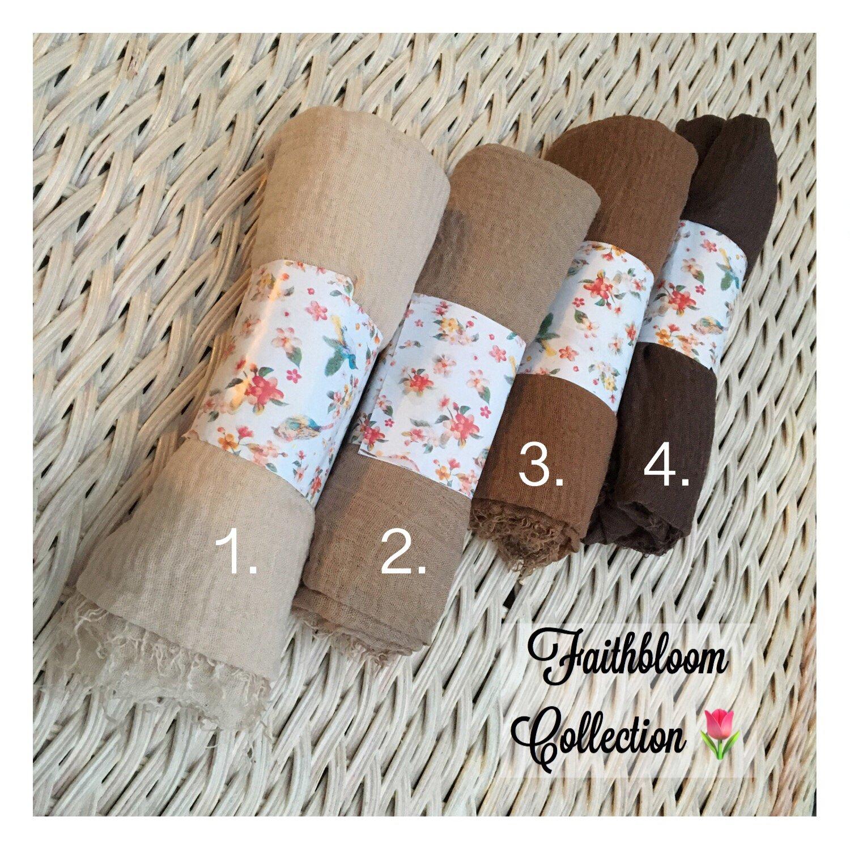 Image of Soft Cotton Hijab Collection (Originally £7.65)
