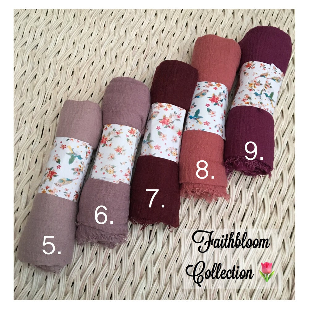 Image of Soft Cotton Hijab Collection (Originally £7.65)