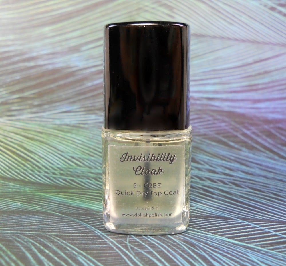 Image of Invisibility Cloak - Dollish Polish Quick Dry Top Coat