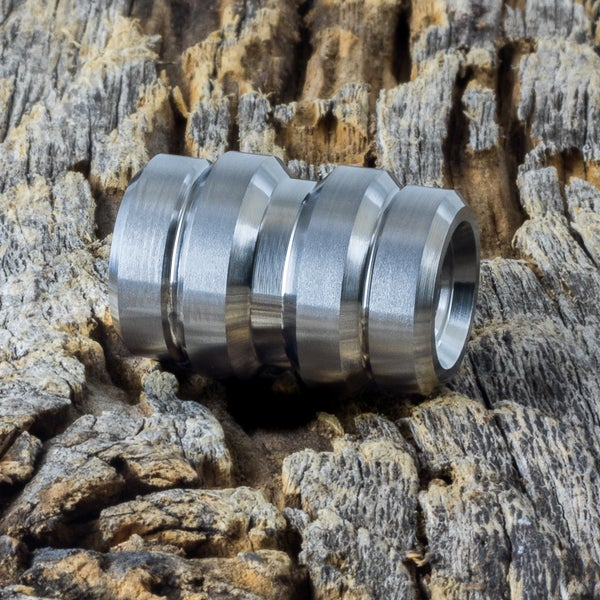 Image of Keg Machined Ti Bead