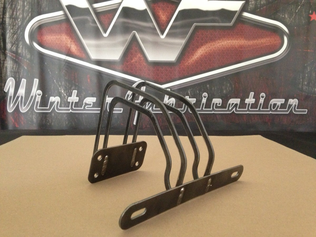 Image of Over Tailgate Plate Mount - Plain - Tag Bracket