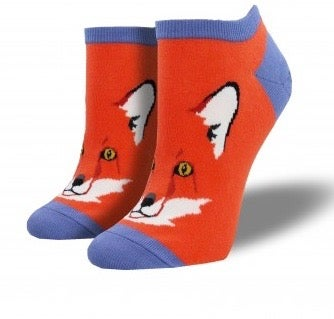 Image of Fox Footie Socks