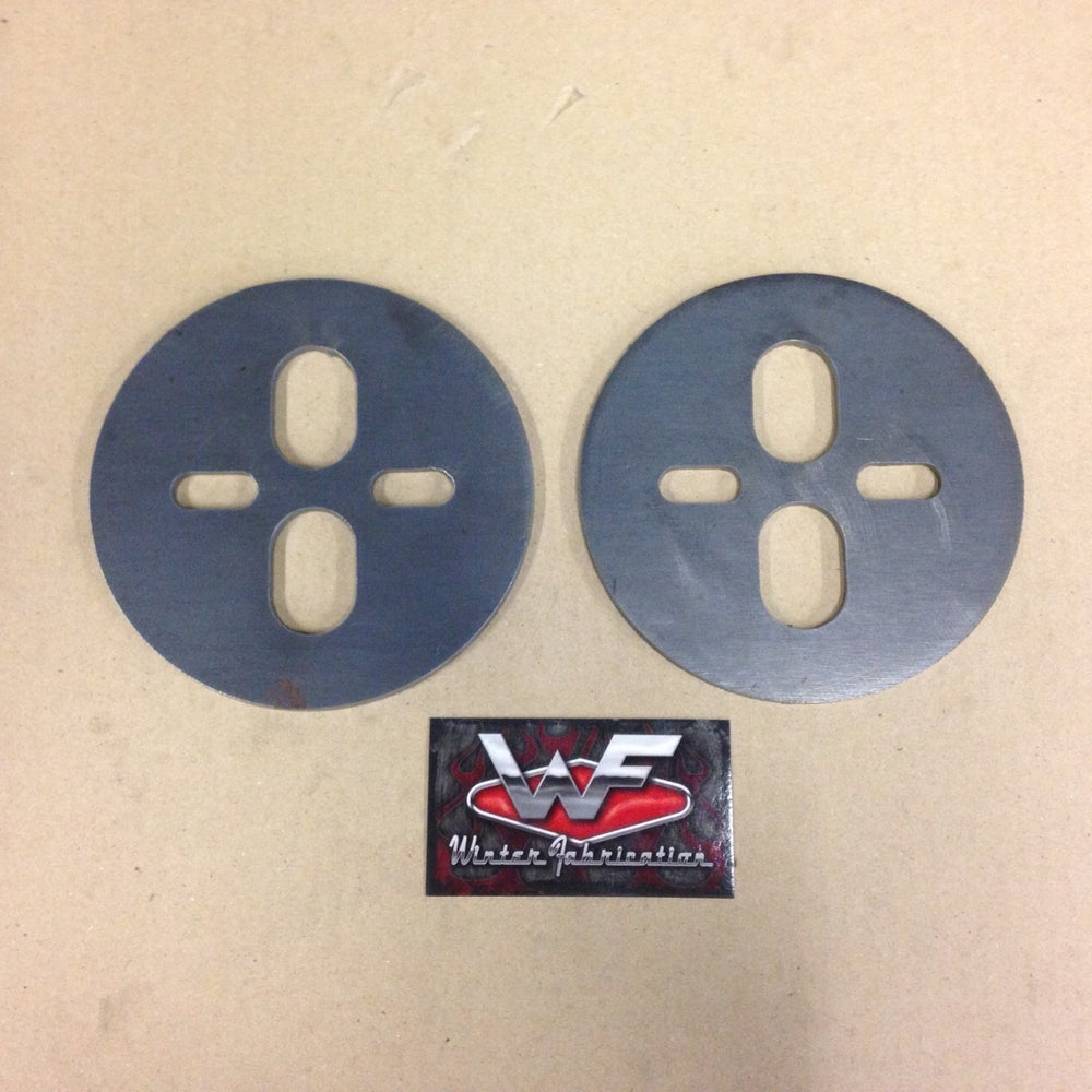 Image of Universal Dual Port Bag Circle Plates