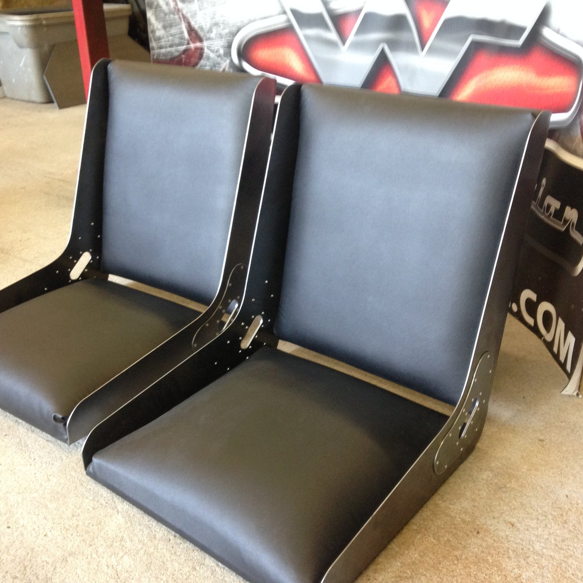 Image of DIY Bomber Seat - FRAMES ONLY - Two(2) Pair