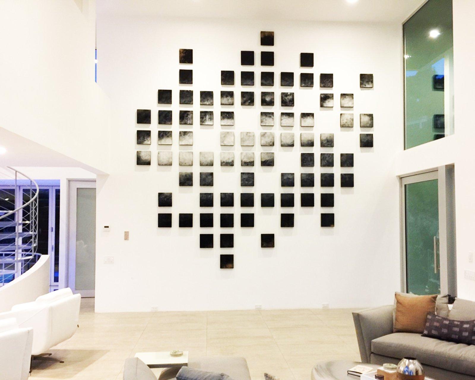 'IN THE FLOW'   Modern Wall Art   Wood Wall Sculpture ...